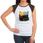 Silkie Assortment Women's Cap Sleeve T-Shirt