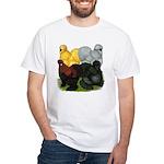 Silkie Assortment White T-Shirt
