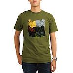 Silkie Assortment Organic Men's T-Shirt (dark)