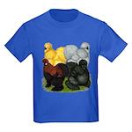 Silkie Assortment Kids Dark T-Shirt