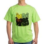 Silkie Assortment Green T-Shirt