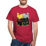 Silkie Assortment Dark T-Shirt