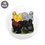 "Silkie Assortment 3.5"" Button (10 pack)"