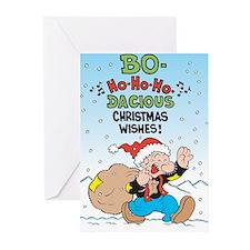 Bo-ho-ho Christmas Greeting Cards (Pk of 10)