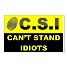 C.S.I Decal