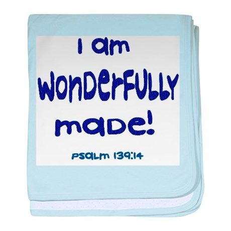 Psalm 139:14 Baby Blanket (2 color choices)