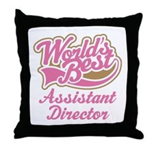 Assistant Director Throw Pillow