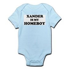Xander Is My Homeboy Infant Creeper