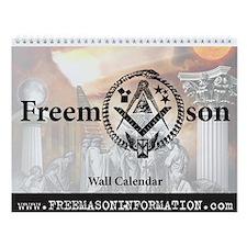 Masonic Wall Calendar