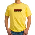 Right Wing Radical Yellow T-Shirt