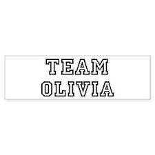 Team Olivia Bumper Bumper Sticker