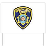 Wichita Falls Police Yard Sign