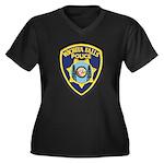 Wichita Falls Police Women's Plus Size V-Neck Dark