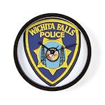 Wichita Falls Police Wall Clock