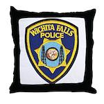 Wichita Falls Police Throw Pillow
