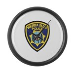 Wichita Falls Police Large Wall Clock