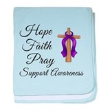 Support Awareness - Lupus Cro baby blanket