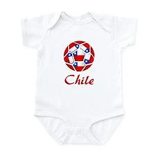 Chile Soccer Infant Bodysuit