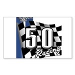 Mustang 2011 5.0 Sticker (Rectangle 50 pk)