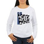 Mustang 2011 5.0 Women's Long Sleeve T-Shirt