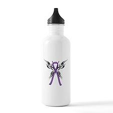 Tribal Butterfly Water Bottle