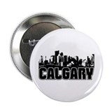 "Calgary Skyline 2.25"" Button"