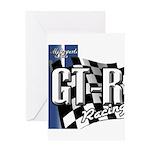GTR Racing Greeting Card