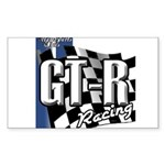 GTR Racing Sticker (Rectangle 10 pk)