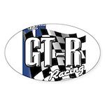 GTR Racing Sticker (Oval 50 pk)