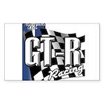 GTR Racing Sticker (Rectangle)