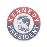 "JFK for President 3.5"" Button"