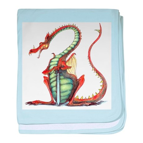 sir dragoon baby blanket