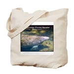Florida Manatee Photo Tote Bag