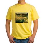 Florida Manatee Photo Yellow T-Shirt