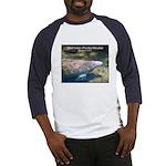 Florida Manatee Photo Baseball Jersey