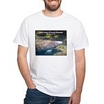 Florida Manatee Photo (Front) White T-Shirt