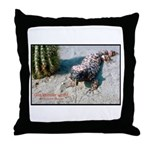 Gila Monster Lizard Photo Throw Pillow