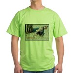 Gila Monster Lizard Photo Green T-Shirt