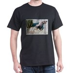 Gila Monster Lizard Photo (Front) Black T-Shirt