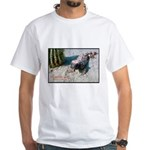 Gila Monster Lizard Photo (Front) White T-Shirt