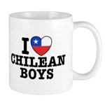 I Love Chilean Boys Mug