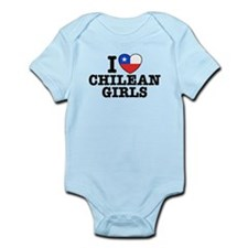 I Love Chilean Girls Infant Bodysuit
