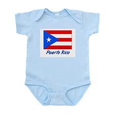 PEURTO RICO FLAG Infant Creeper