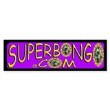 Purple Bongo & Lil Bumper Car Sticker