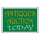 Antiques Auction today Banner