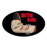 BITE ME C slv K9 D (dark) Decal