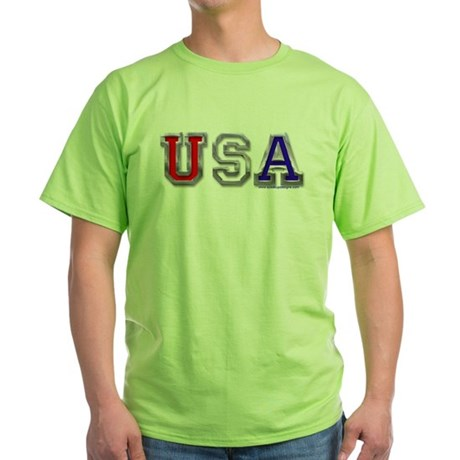 USA Chrome Green T-Shirt