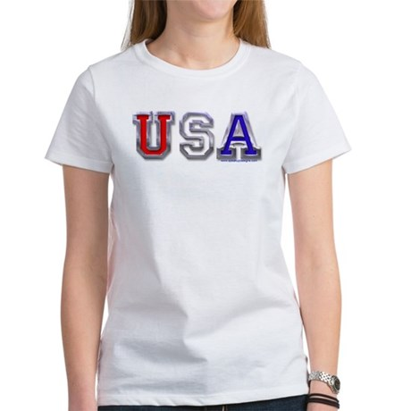 USA Chrome Women's T-Shirt