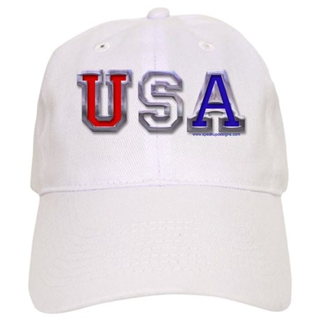 USA Chrome Cap