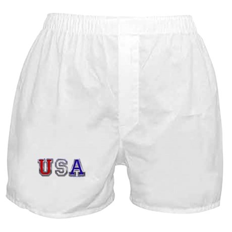 USA Chrome Boxer Shorts
